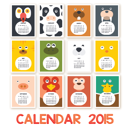 Cute calendar 2015 android apps on google play for How to make a cute calendar