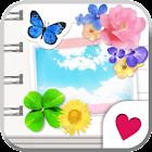 Cute wallpaper★Girls Notebook icon