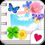 Cute wallpaper★Girls Notebook