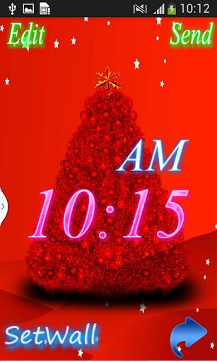 Christmas Digital Clock
