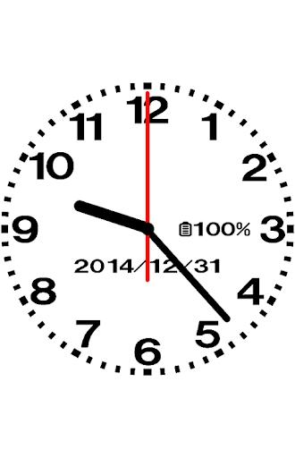 设计模拟时钟壁纸 - No05