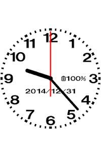 設計模擬時鐘壁紙 - No05