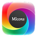 MIcons HD (Nova Apex Go Theme) v4.2c Android Game Apps APK