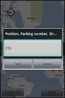 Screenshot of Parking Remember