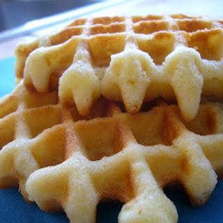 Four Quarters Waffles Recipe.