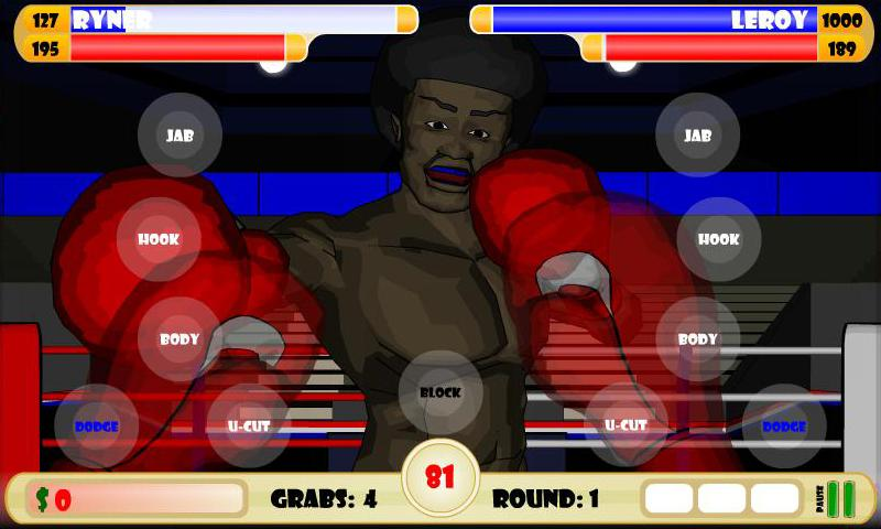 Ultimate Boxing Round One- screenshot