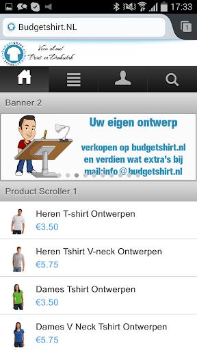 Budgetshirt