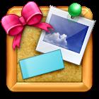 コルクボードウィジェット icon