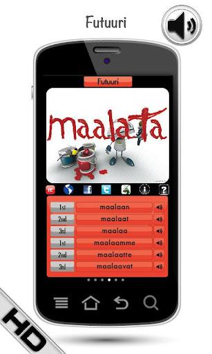 無料教育Appのフィンランド語の動詞を学ぶ HD LearnBots|記事Game