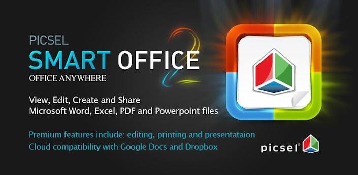 Скачать Picsel Smart Office - мобильный офис для андроид