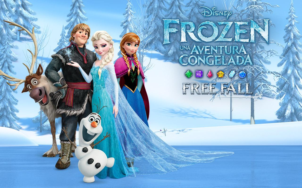 Frozen Free Fall: captura de pantalla