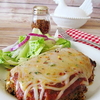 Chicken Parmigiana-Healthier Version