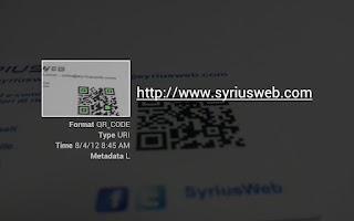 Screenshot of QR Scanner Light