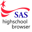 SAS High School Browser logo