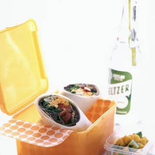 Taco-Salad Wraps.