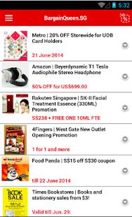 玩免費生活APP|下載BargainQueen SG Singapore app不用錢|硬是要APP