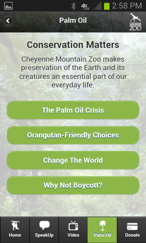Palm Oil Shopping Guide - screenshot