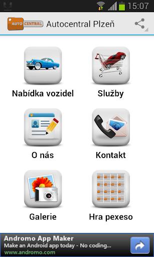 【免費交通運輸App】Autocentral Plzeň-APP點子