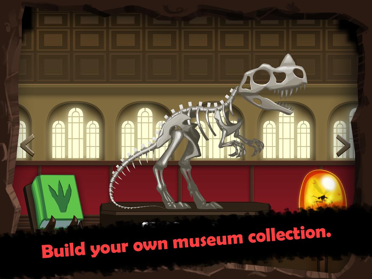 Dino Quest - Jogo Dinossauros - screenshot