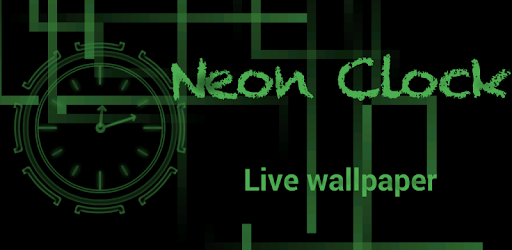 Neon Clock GL Live wallpaper on Windows PC Download Free