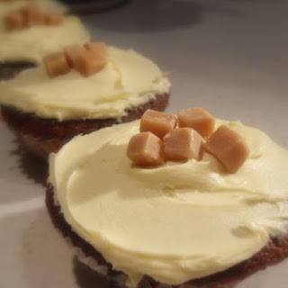 Toffee Ginger Fairy Cakes