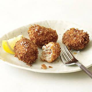 Serrano Ham and Chicken Croquettes.