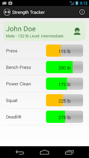 Strength Tracker- screenshot thumbnail