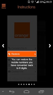 Orange 8 to 9- screenshot thumbnail