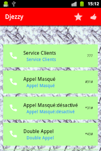 USSD services in Algeria- screenshot thumbnail