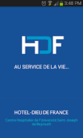 Screenshot of Hotel Dieu de France Hospital