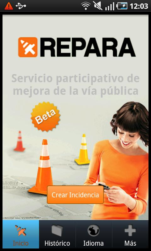 ReparaCiudad- screenshot