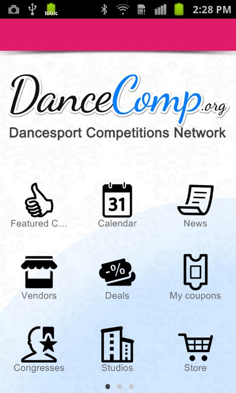 DanceComp - screenshot
