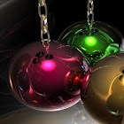 Live Wallpaper Christmas Balls icon