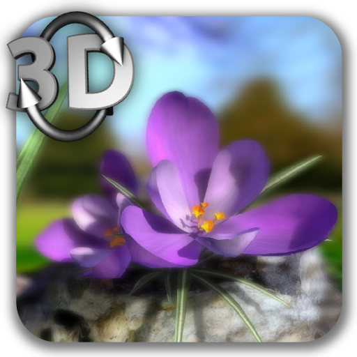 Nature Live❁ Spring Flowers 3D