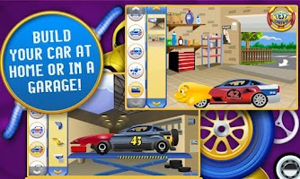 Screenshot of Amazing Car Creator Kids Game