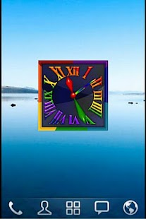Rainbow Alarm Clock Widget- screenshot thumbnail