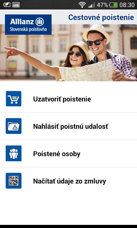 Allianz – Slovenská poisťovňa - screenshot
