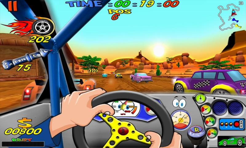 Cartoon Racing Free- screenshot