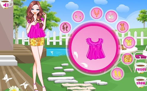 pink games for girls girl games