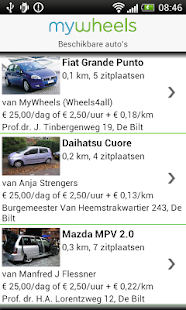 deelauto - screenshot thumbnail