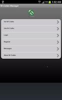 Screenshot of M-Codes
