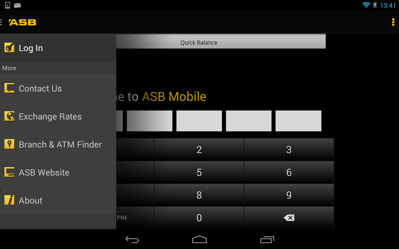 ASB Mobile Banking - screenshot