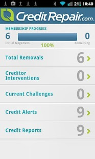 CreditRepair- screenshot thumbnail
