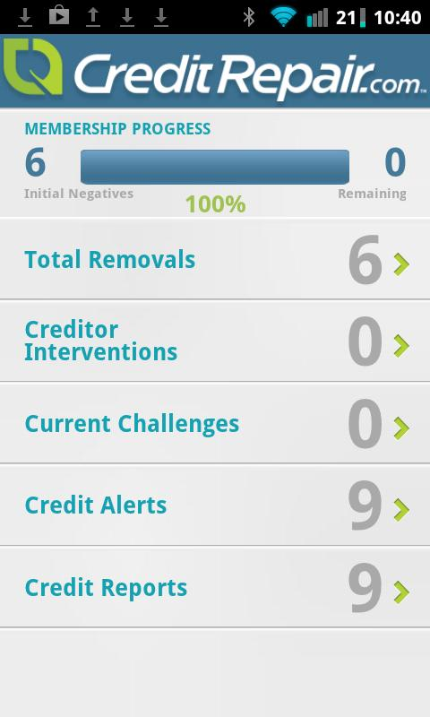 CreditRepair- screenshot