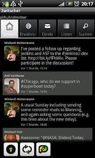 Zwitscher- screenshot thumbnail