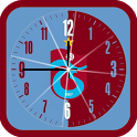 Trabzonspor Analog Clock icon