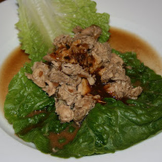 Chicken Lettuce Wraps CrockPot.