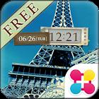 艾菲爾鐵塔・棕色系 巴黎主題・桌布 icon