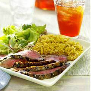 Asian Grilled Steak.