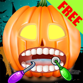 Christmas Pumpkin Dentist HD